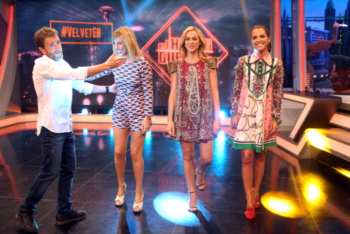 paula echevarria, coach, dress, vestido, look, el hormiguero